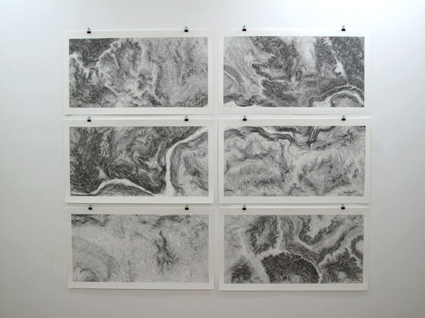 Contour Line Landscape Drawing : Contour line drawings matthew smith